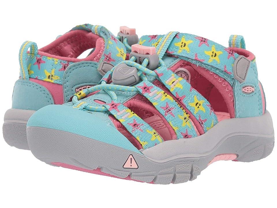 Keen Kids Newport H2 (Toddler/Little Kid) (Tibetan Stone Starfish) Girls Shoes