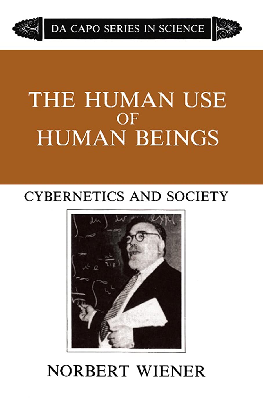 ペデスタルインセンティブ父方のThe Human Use Of Human Beings: Cybernetics And Society (English Edition)