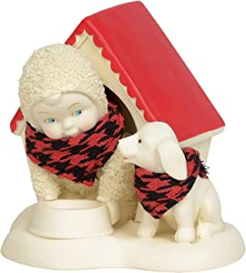 Department 56 Snowbabies Classics in The Doghouse Figurine, 3.875 Inch, Multicolor