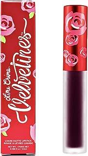 Lime Crime Velvetines Liquid Matte Lipstick, Bloodmoon - Deepest Blood Red - French Vanilla Scent - Long-Lasting Liquid Matte Lipstick - Won't Bleed or Transfer - Vegan