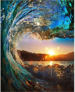 Best wave oil painting Reviews