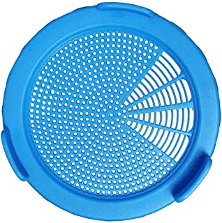 Plastic Sprouting Lids, Sprouting Jar Strainer Lid, for 86mm Wide Mouth Mason Jars, for Canning Jars, Suit for Grow Bean Sprouts, Alfalfa, Salad Sprouts etc (Blue, 86mm)