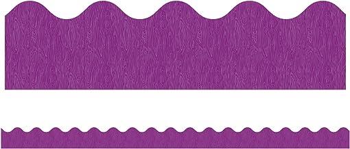 You-Nique Purple Ridge Scalloped Borders