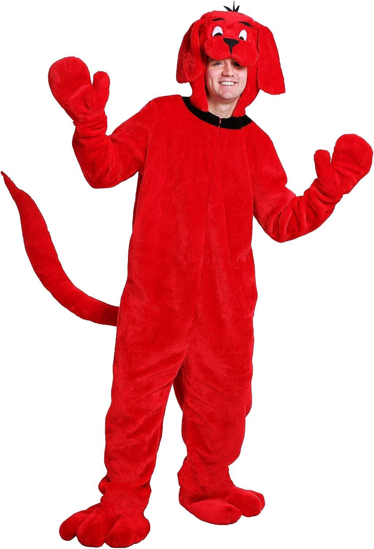 Clifford the Big rot Dog Adult Fancy dress costume Standard