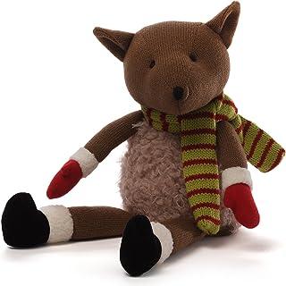 "GUND Christmas Knit Fox Plush, 7.5"""