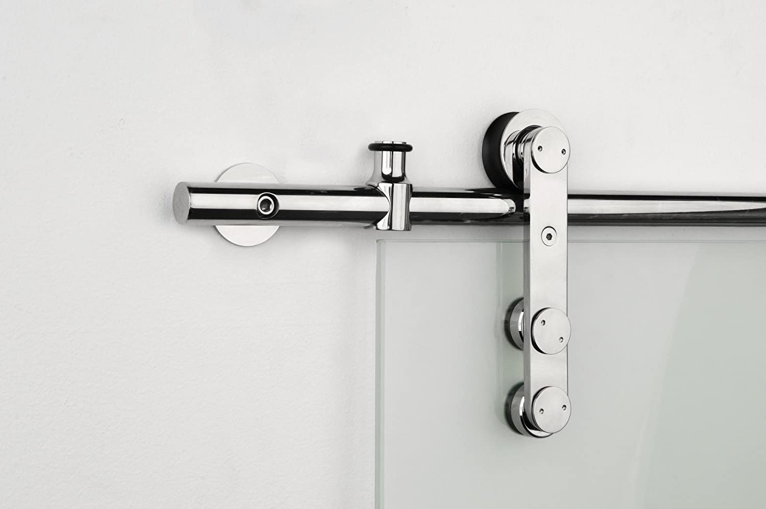 STRONGAR Contemporary Super beauty product Houston Mall restock quality top Stainless Steel Sliding Hardware Barn Door