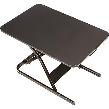 AmazonBasics Height Adjustable Sit-Stand Standing Computer Desk Converter