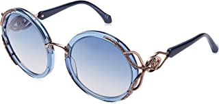 ROBERTO CAVALLI Unisex Adults' RC1076 90X 59 Optical Frames, Blue LUC\\BLU SPECCHIATO, 59