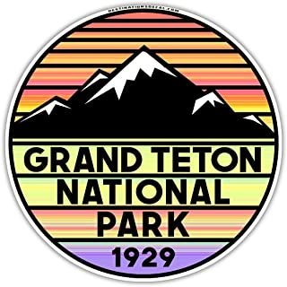 Grand Teton National Park Wyoming Vinyl Decal Sticker 3