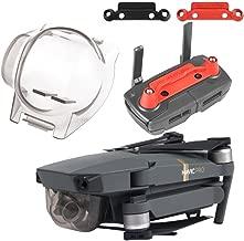 Aterox DJI Mavic Pro Accessories Gimbal Cover Lock & Transport Clip Combo Remote Controller Joystick Stick protector Lens Camera Guard Bundle