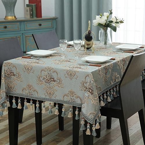 Unbekannt %Tablecloth Rechteck Tischdecke EuropäischenTuch Tee Tischdecken Wohnzimmer Esstisch (Farbe   E, Größe   110  170cm)