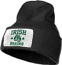 NGFF Women & Men Irish Boxing Winter Warm Beanie Hats Stretch Skull Ski Knit Hat Cap