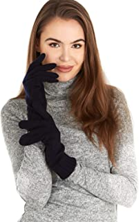 Best navy suede gloves Reviews