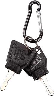 (2) Key for JCB Heavy Equipment