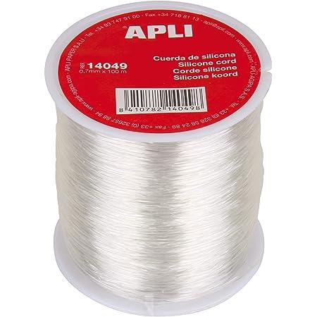 APLI Cuerdas y Alambres, Silicona, 100