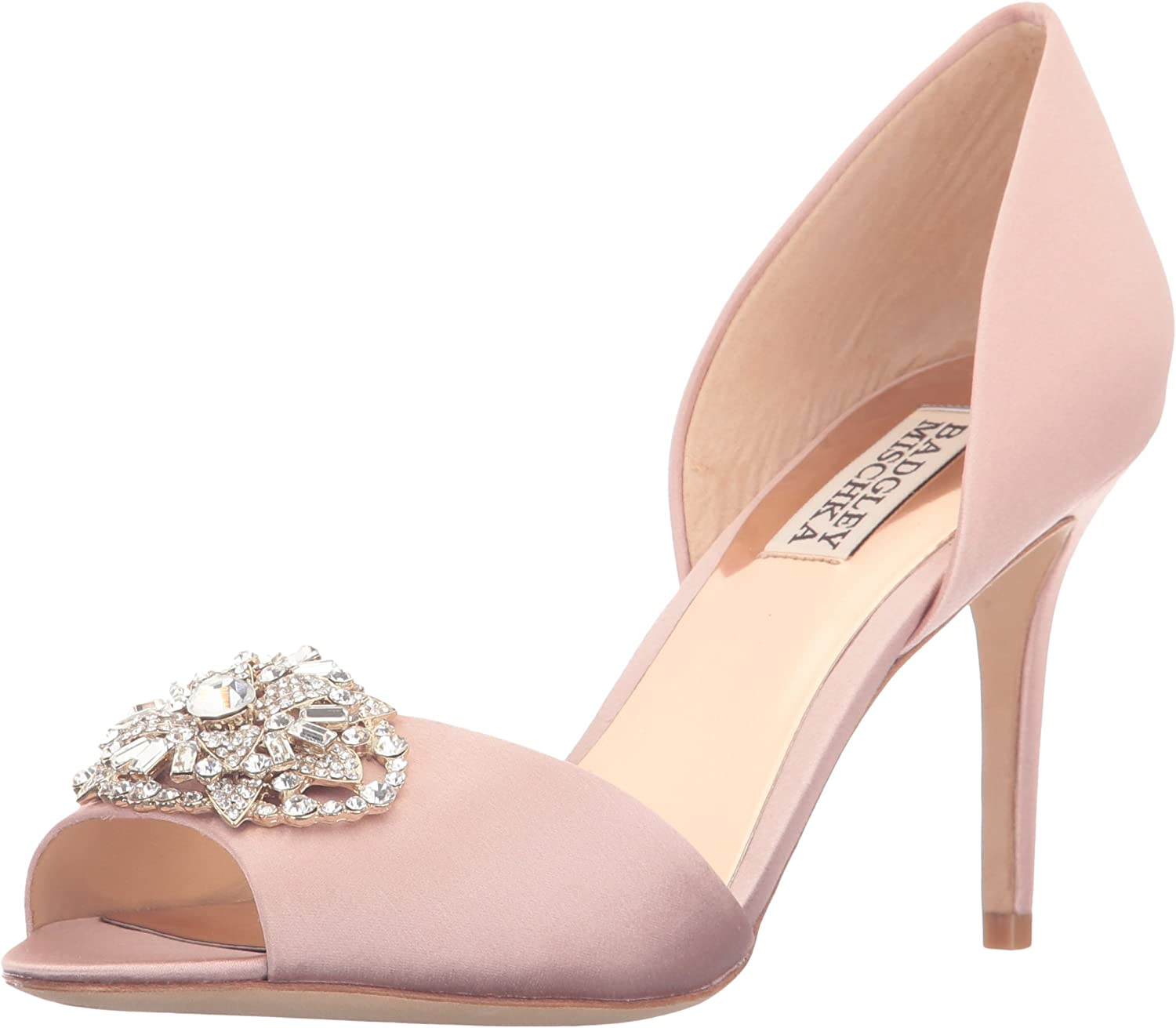 Badgley Mischka Womens Dana Dress Pump
