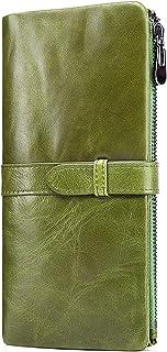 財布 レディース 二つ折り 長財布 人気 レディース 財布 ブランド ふたつおり財布 RFID スキミング防止 磁気防止 レディース 2 つ折り 財布 大容量
