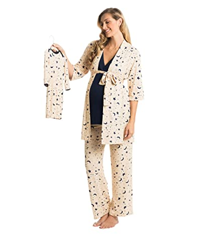 Everly Grey Analise Maternity/Nursing Mommy Me Five-Piece PJ Set (Twinkle) Women