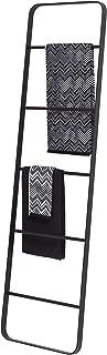 Sealskin Brix Decoratieve Ladder en Handdoekhouder, Metaal, Zwart