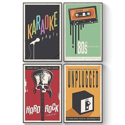 Vintage Music Posters: Amazon com