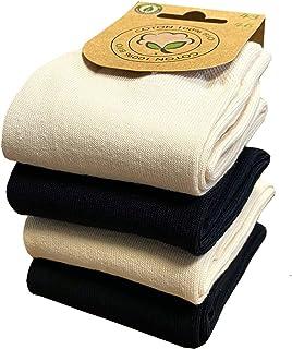 Biofeel, Calcetines para hombre, algodón orgánico, juego de 4 pares