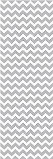 Locker Designz Delux Magnetic Locker Wallpaper, Grey Zig Zag