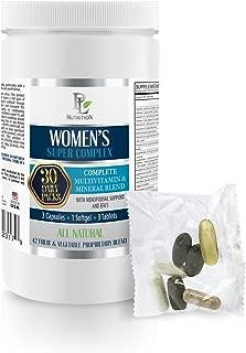 Women Wellness Vitamin - Women's Super Complex - Daily Pack - Black Cohosh Menopause Complex - 1 Can 30 Packs (210 Pills)