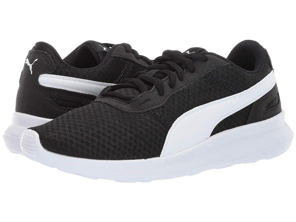 Puma Kids ST Activate (Big Kid) (Puma Black/Puma White) Kids Shoes