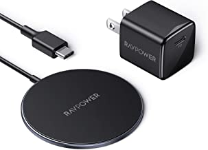 Magnetic Wireless Charger RAVPower for MagSafe Charger iPhone 12 Charger【Mini USB C PD Adapter Included】Fast Wireless Char...