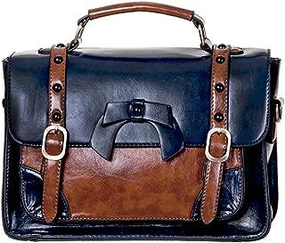 Buckle With Bow Retro Handbag - 9 Colours
