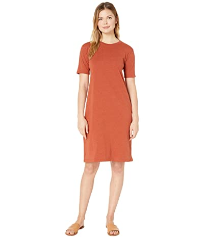 Pendleton Deschutes Tee Dress (Terra Cotta Heather) Women