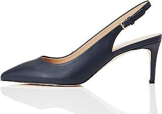 Amazon Brand - find. Fern-s-sh-1-70, Women's Sling Back Heels