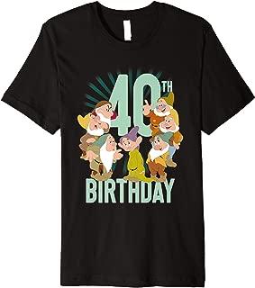 Snow White Dwarfs Group Shot 40th Birthday Premium T-Shirt