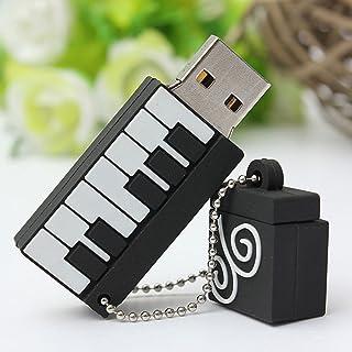 MECO 8/16 GB/32 GB USB 2.0 flashminne minne minne mini piano gåva 16 GB