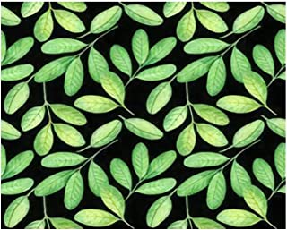 Paint By Numbers Seamless pattern Watercolor peanut leafes Digital Coloring Oil Painting Canvas With Inner Frame Hand-Pain...