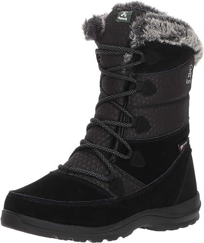 Kamik Woherren POLARWIDE Snow Stiefel, schwarz, 5 Wide US