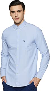 US Polo Association Men's Casual Shirts
