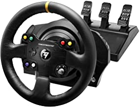 Thrustmaster TX Racing Wheel Leather Edition, Volante e Pedali, Xbox Serie X S, Force Feedback, Motore Brushless, Doppia C...