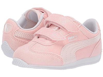 Puma Kids Whirlwind Glitz V (Toddler) (Pearl/Puma White) Girls Shoes