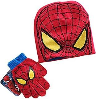 スパイダーマン キッズ 帽子 手袋 2点セット 191