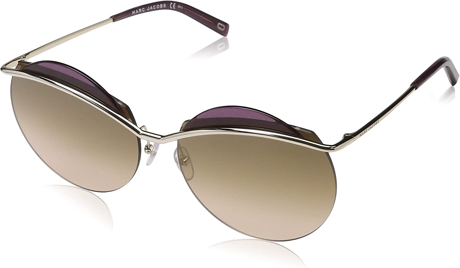 Marc Jacobs Marc 102 S 3YG (Silver with Brown Gradient lenses)