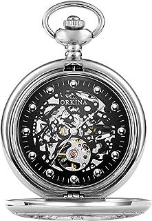 Pockethorloge Mode Holle Handleiding Mechanische Pocket Horloge Strap Ketting Vaderdag Gift