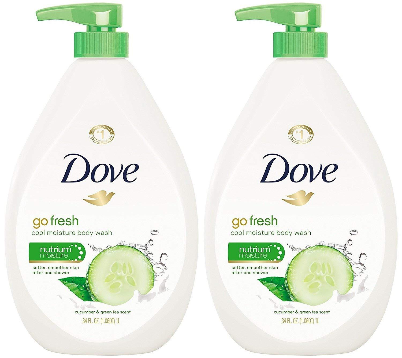 Dove Go Fresh Cool Moisture Body Wash Green Cucumber Tea チープ and 激安通販販売 Pu