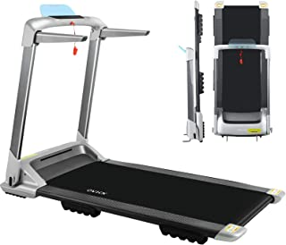 OVICX Home Treadmill 3HP Electric Running Exercise Machine Fully Foldable Cardio Fitness 1-14kmh Speeds Joints Injury Prev...