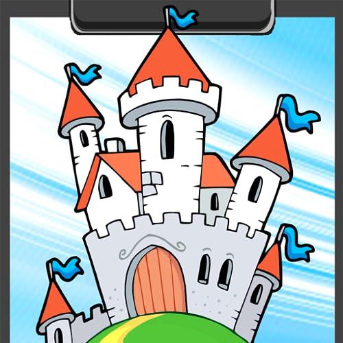 Schloss Malbuch
