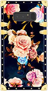 Funermei Flower Luxury Case for Samsung Galaxy S8,3D Soft Colorful Rose Floral Rivet Pattern Design Slim Cover,Unique Women Girls Lady Phone Skin, Color TPU Shockproof Cases Galaxy S8