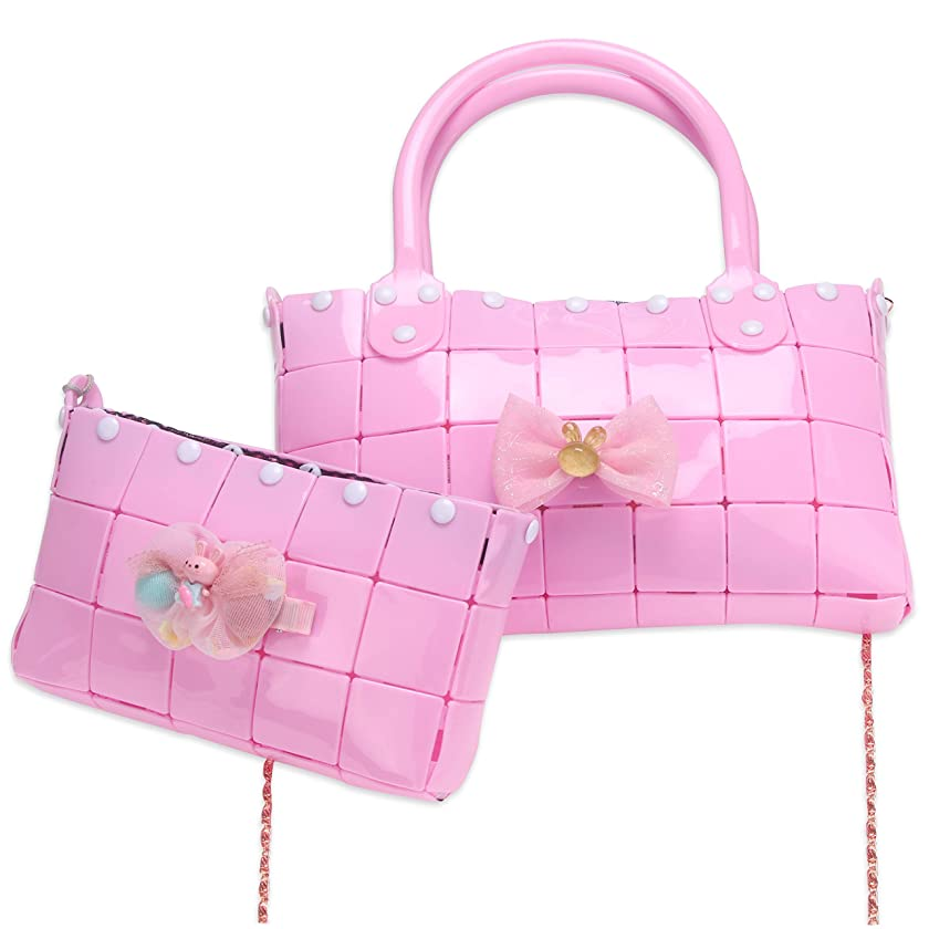 NeWisdom DIY Gifts kit,1pc Handbag & 1 pc Clutch Bag, Creative Toys for 6 Year Old Girls and up