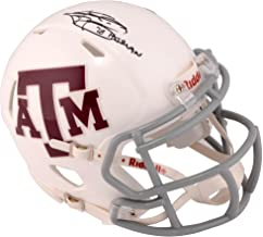 Johnny Manziel Texas A&M Aggies Autographed White Riddell Mini Helmet with