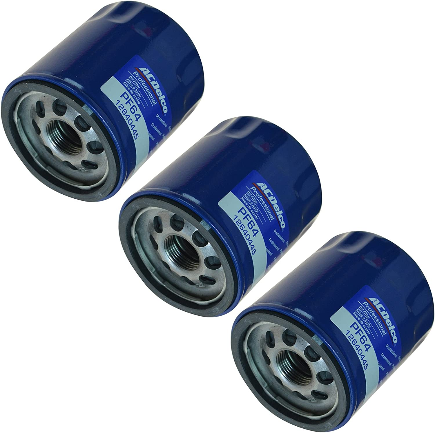 AC Delco PF64 Engine Oil Filter 格安 Set for of Chev Cadillac Buick 日本最大級の品揃え 3