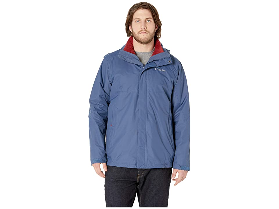 Columbia Big Tall Eager Air Interchange Jacket (Dark Mountain) Men
